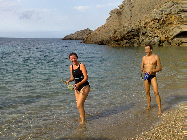 Preparats per nadar